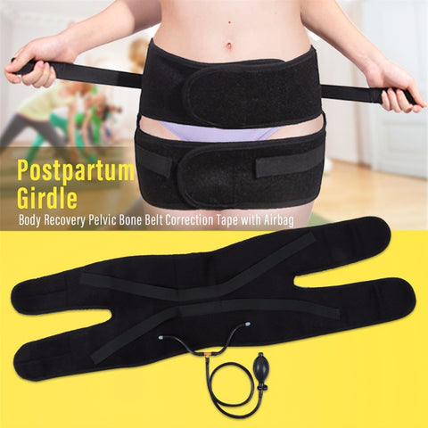 Postpartum Girdle Body Recovery Pelvic Bone Belt with Airbag