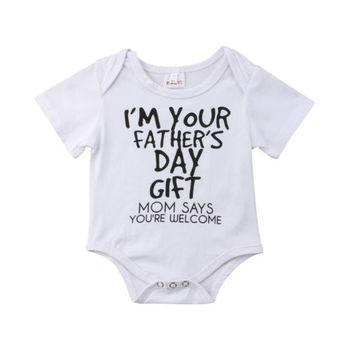 """Father's Day Gift"" Romper"