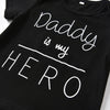 "Image of ""Daddy is my hero"" set"