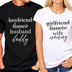 COUPLES UNISEX T-SHIRT