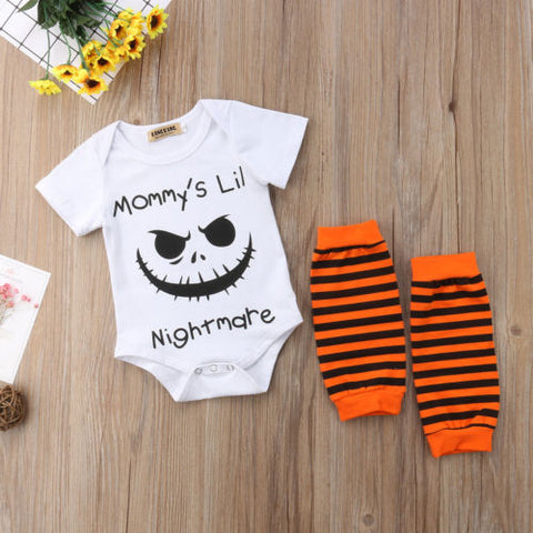 """Mommy's Lil Nightmare"" Romper"