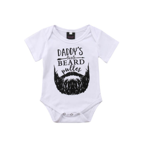 Beard Daddy Romper