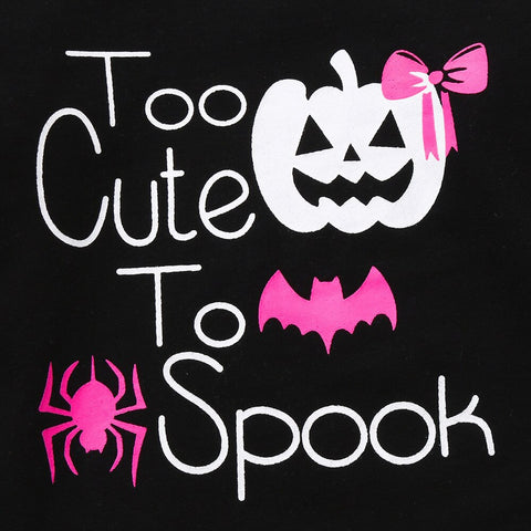"""Too Cute To Spook"" Romper"
