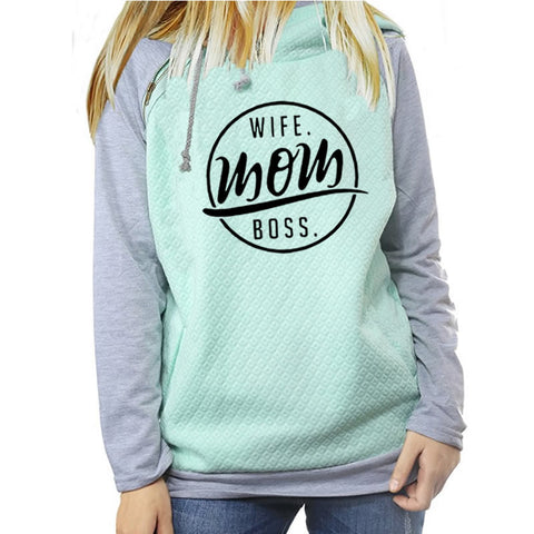 Praise™ - Famous Wife - Mom - Boss Hoodie