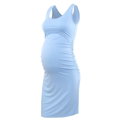 Sleeveless Fitted Maternity Dresses
