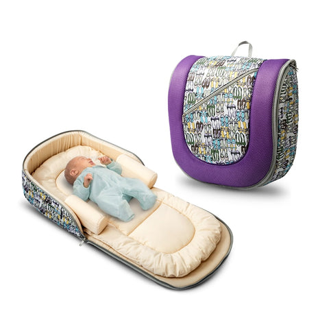 PORTABLE BABY BED BACKPACK
