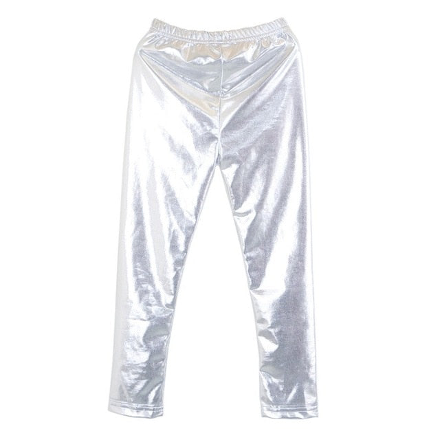SHINY SKINNY CHILDREN LEGGING