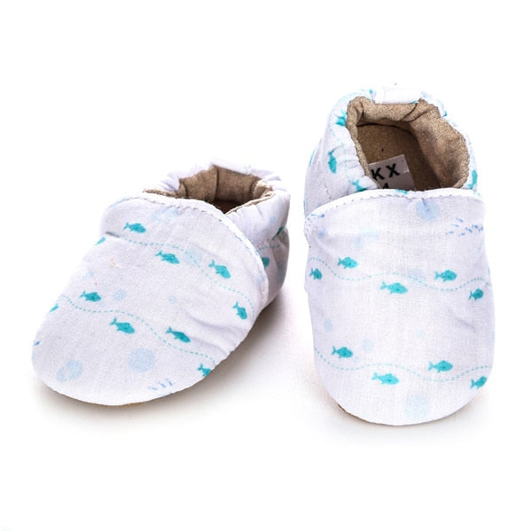100% COTTON SHOES - BLUE FISH