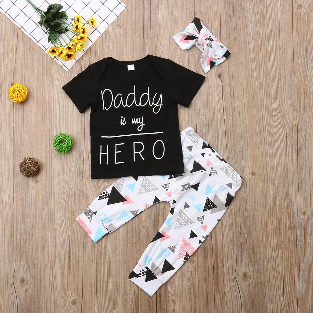 Daddy Is The My Hero Set