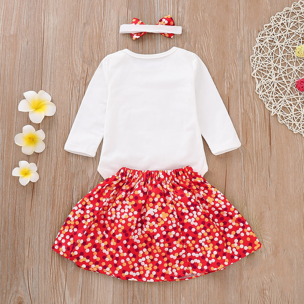 Tutu Dress Skirt Outfits 3Pcs