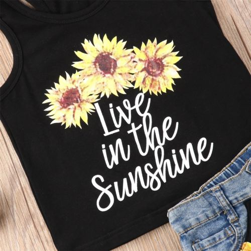 Live In The Sunshine Outfits Set