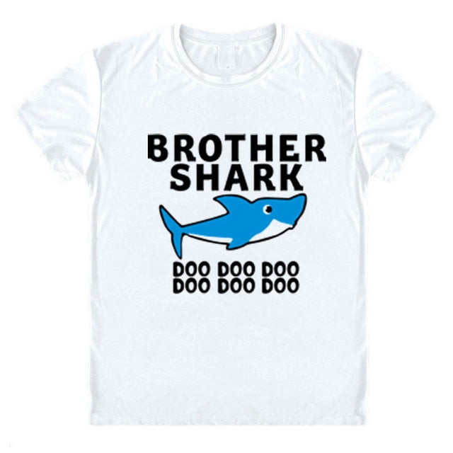 Baby Shark Family T-Shirts