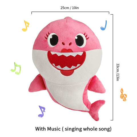 Singing Baby Shark Plush