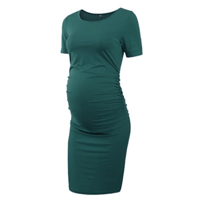 Three Pack Short Sleeve Maternity Dresses