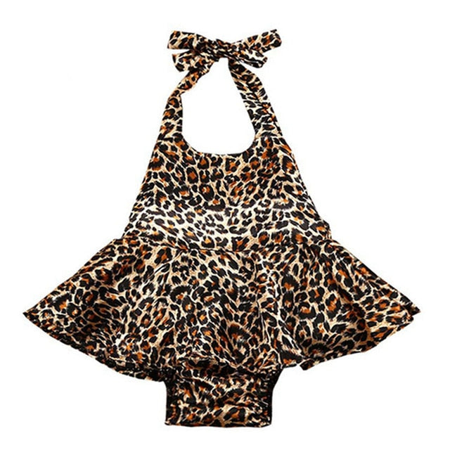 Leopard One-piece Romper