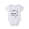 "Image of ""God Knew My Heart Needed You"" Romper"