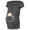 Image of Funny Maternity T-shirt