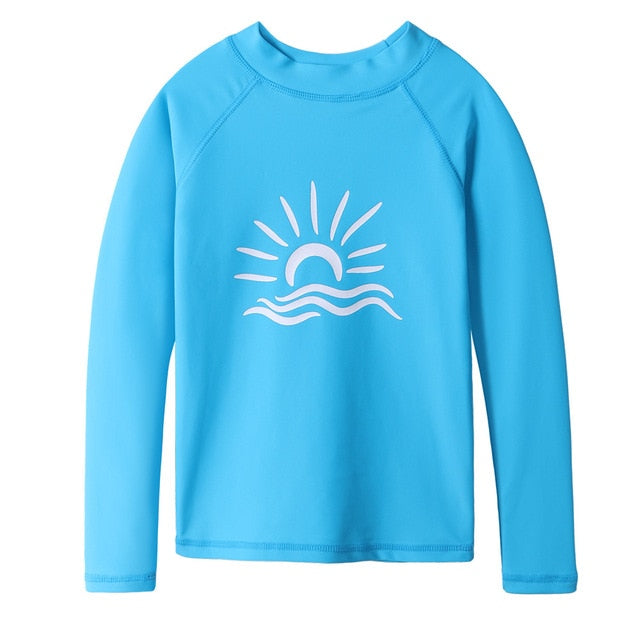 Rushguard - Kids Sun Protection Shirt