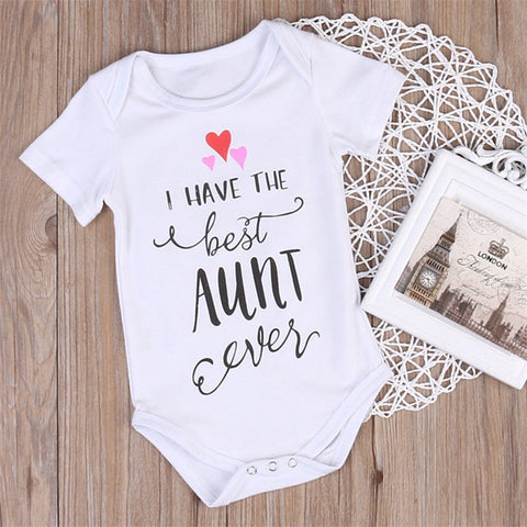 """I Have The Best Aunt Ever"" Romper"
