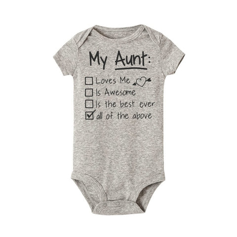 """My Aunt All The Above"" Romper"