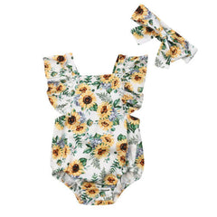 MUSKAAN SUNFLOWER WITH HEADBAND