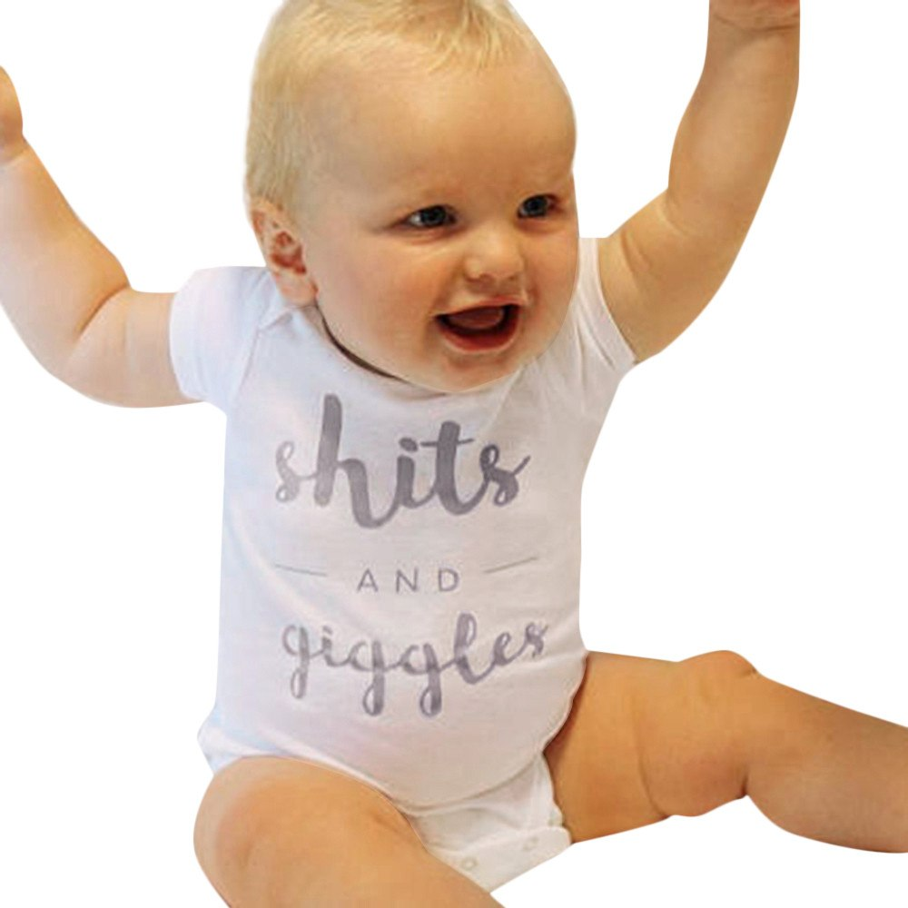 """Shits And Giggles"" Romper"