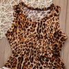 Image of ROCKABILLY BABY LEOPARD ROMPER