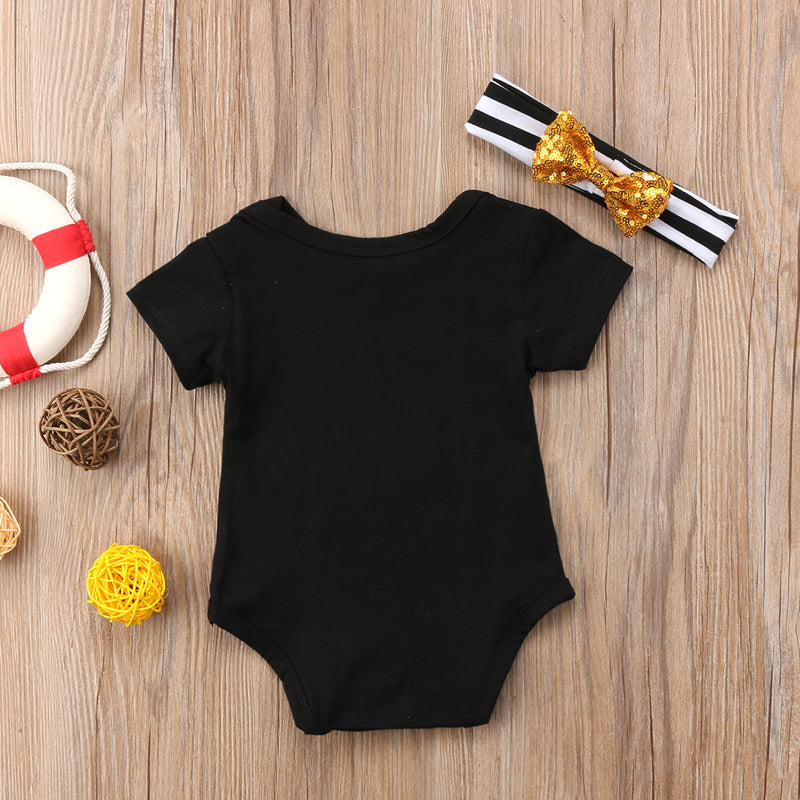 """Hand Picked For Earth"" Romper"