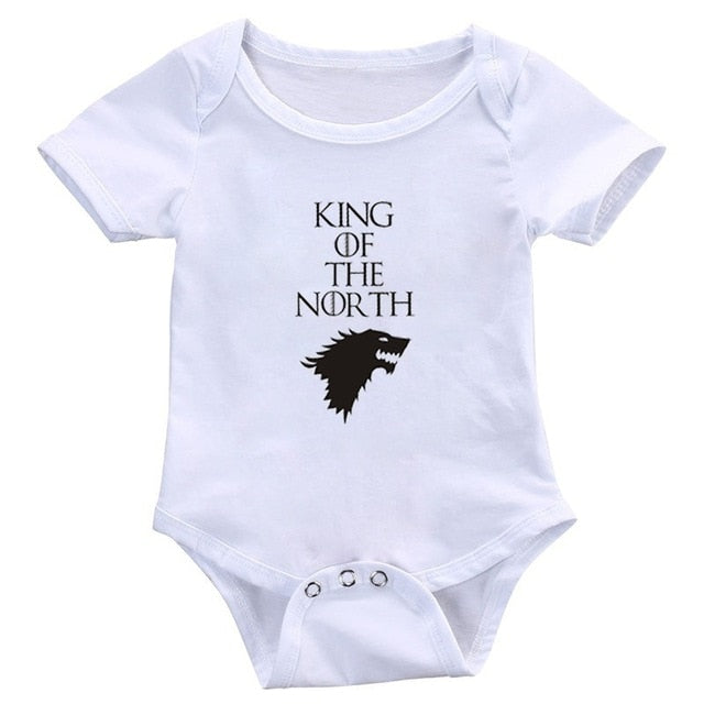 """King Of The North"" Romper"