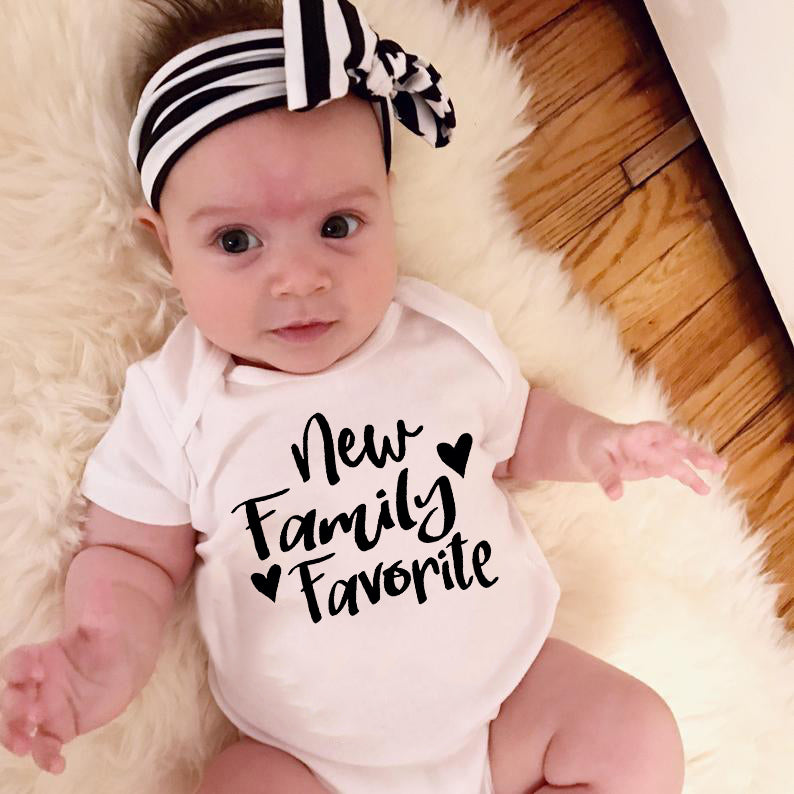"""New Family Favorite"" Romper"