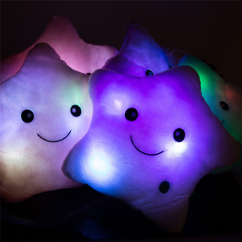Happy Start Light Up Soft Cushion