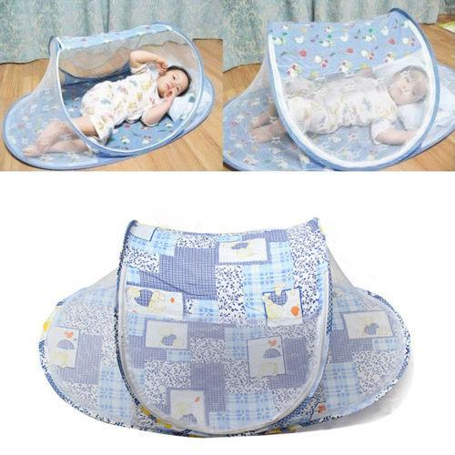 Amazing Portable Baby Crib With Netting - 50% Off