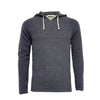 Men´s Cashmere Hooded Sweater in Diagonal Stitch Aspen - Hommard