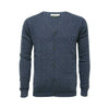 Jeans Men´s Cashmere Cardigan Cable stitch - Hommard