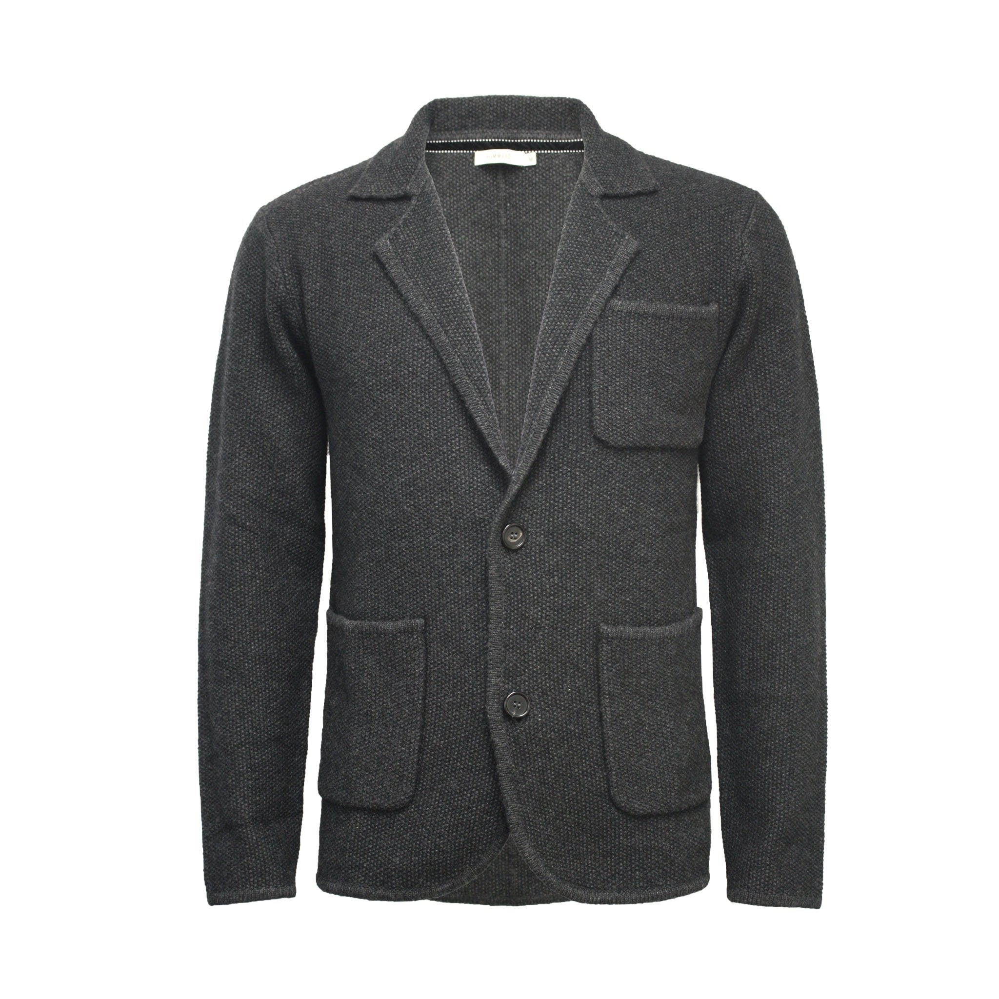 Men´s Knitted Seed Stitch Jacket Tura - Hommard