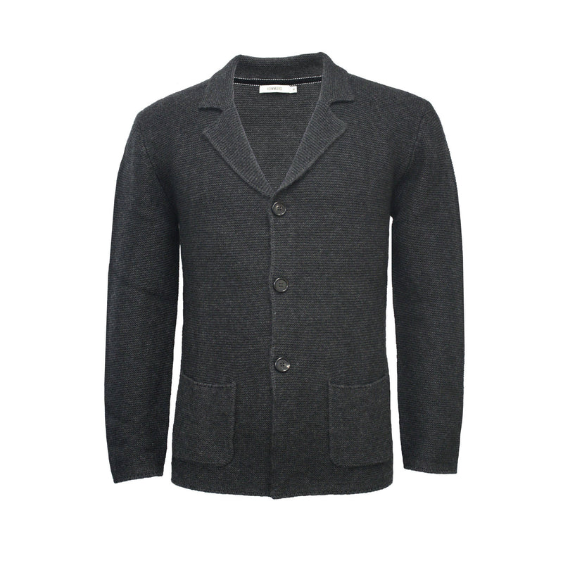 Knitted 3 Button Jacket left stitch Tathra - Hommard