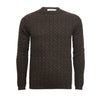 Donegal Men´s Cashmere Crew Neck Cable Sweater Kioloa - Hommard