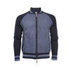 Men´s Cashmere Bomber Jacket in diamond stitch Mougins - Hommard