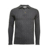 Men´s Cashmere Sweater Polo Neck Cable Moruya - Hommard