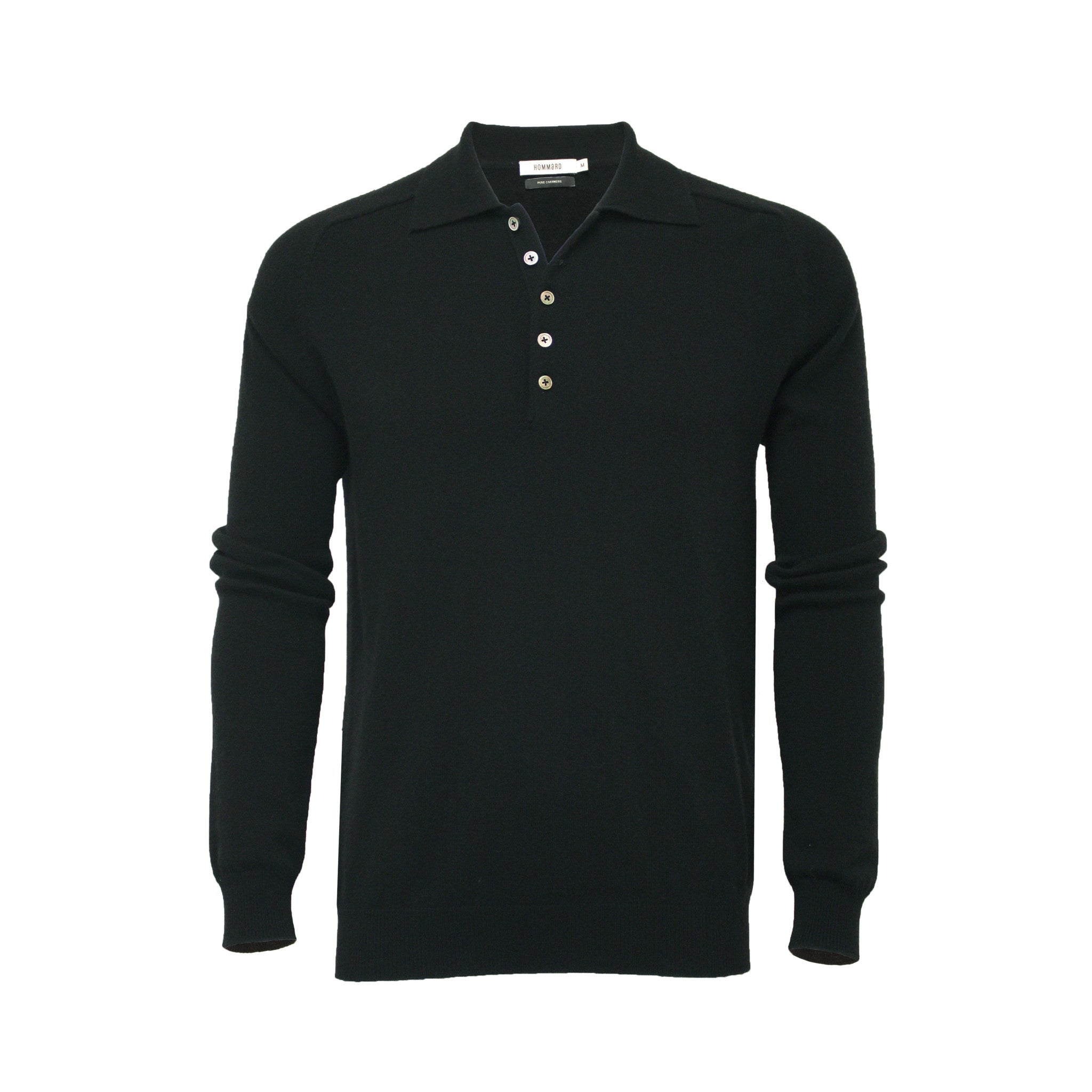 Men´s Cashmere Polo Neck Sweater Porter - Hommard