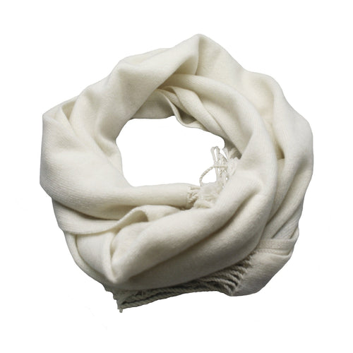 Cashmere Light Weight Knitted Scarf