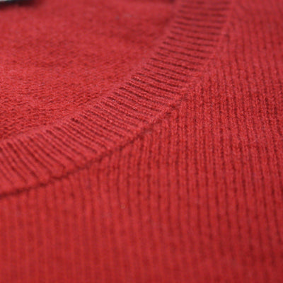Bordeaux Men´s Cashmere Crew Neck Sweater - Hommard