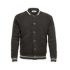 Black Men´s Cashmere Bomber Jacket Jason - Hommard