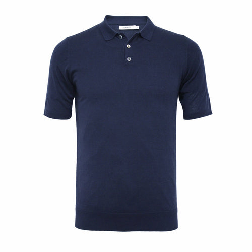 Silk Polo Shirt 3 Buttons