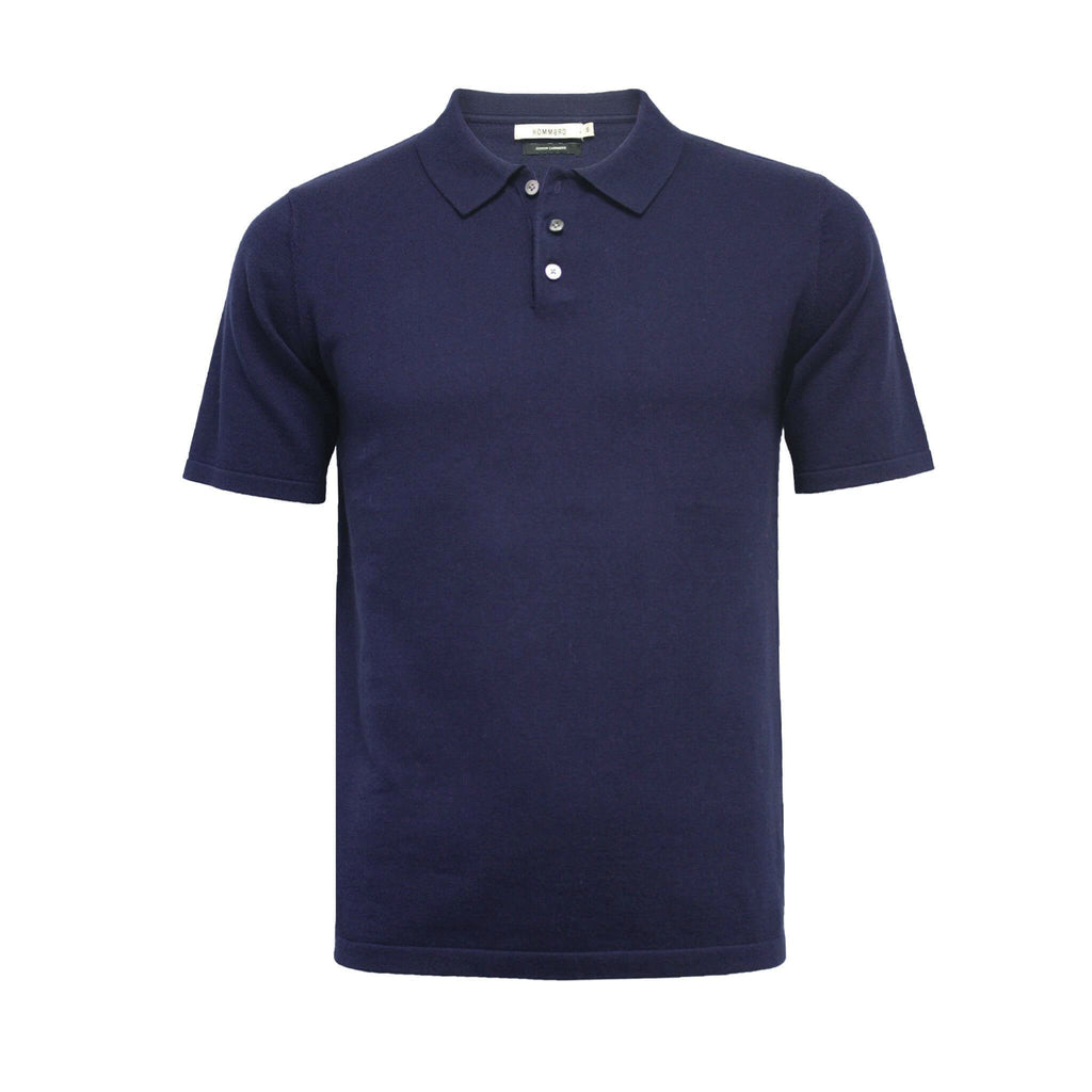 Men´s Cotton Cashmere 3 Button Polo Shirt Oahu - Hommard