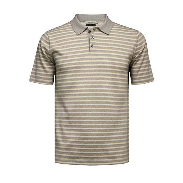 Polo Shirt Palm Beach Striped - Hommard