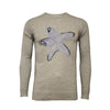 Grey Crew Neck Star Fish Intarsia - Hommard
