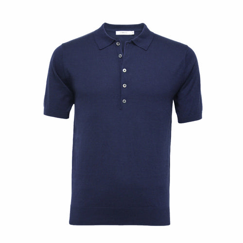 Silk Polo Shirt 5 Buttons