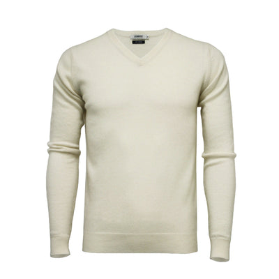 Men´s Cashmere V Neck Sweater - Hommard