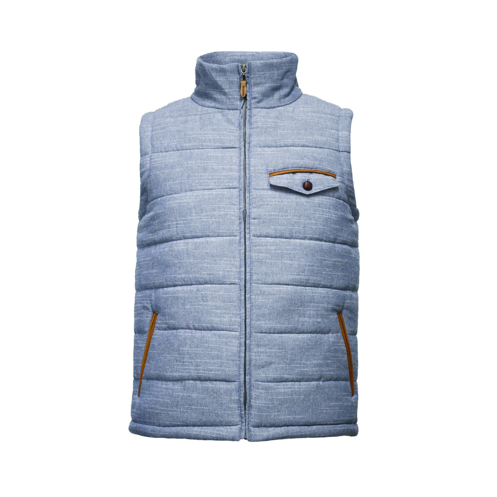 Men´s Bodywarmer Linen Cotton - Hommard